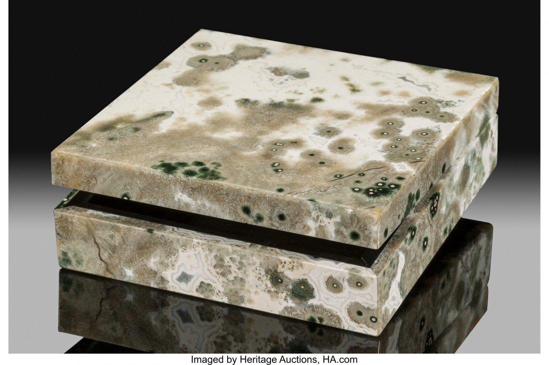 72196: Ocean Jasper Box Stone Source: Madagascar   This