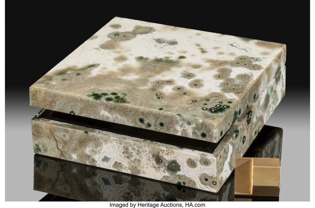 72196: Ocean Jasper Box Stone Source: Madagascar   This - 2
