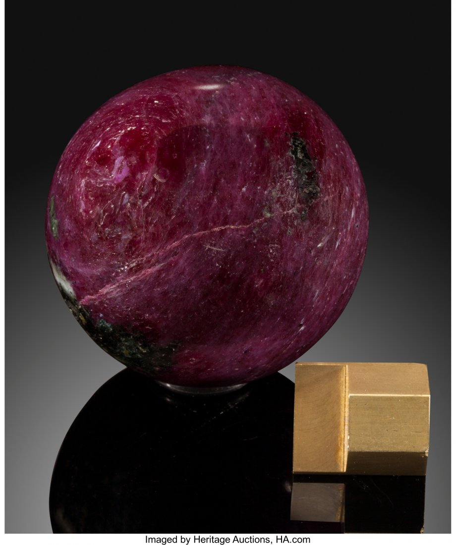 72057: Ruby Sphere Stone Source: India   This little ru - 2