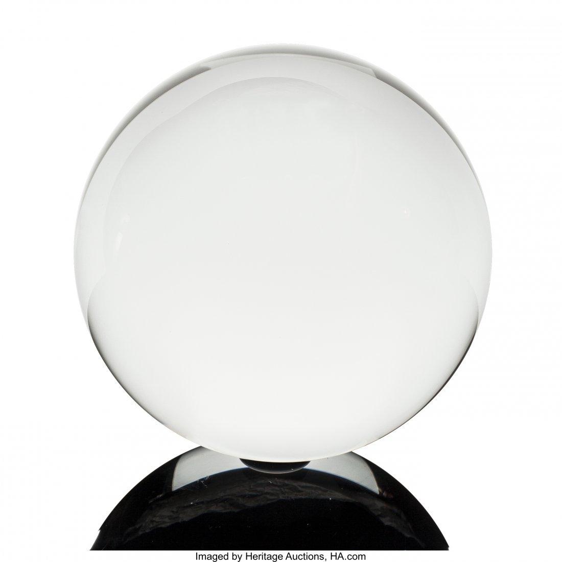 72071: Clear Quartz Sphere Stone Source: Brazil   A few