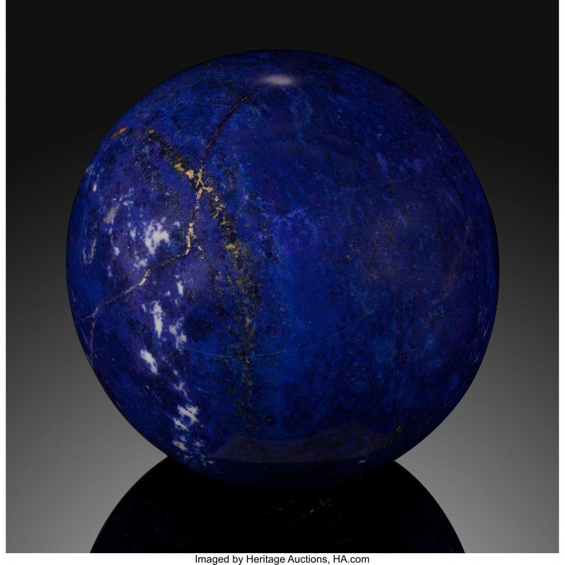 72077: Lapis Sphere Stone Source: Afghanistan   Lapis l