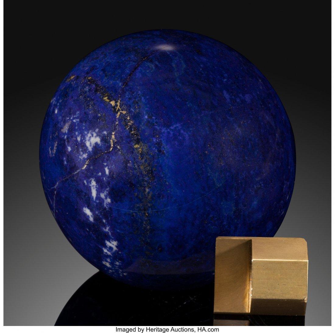 72077: Lapis Sphere Stone Source: Afghanistan   Lapis l - 2