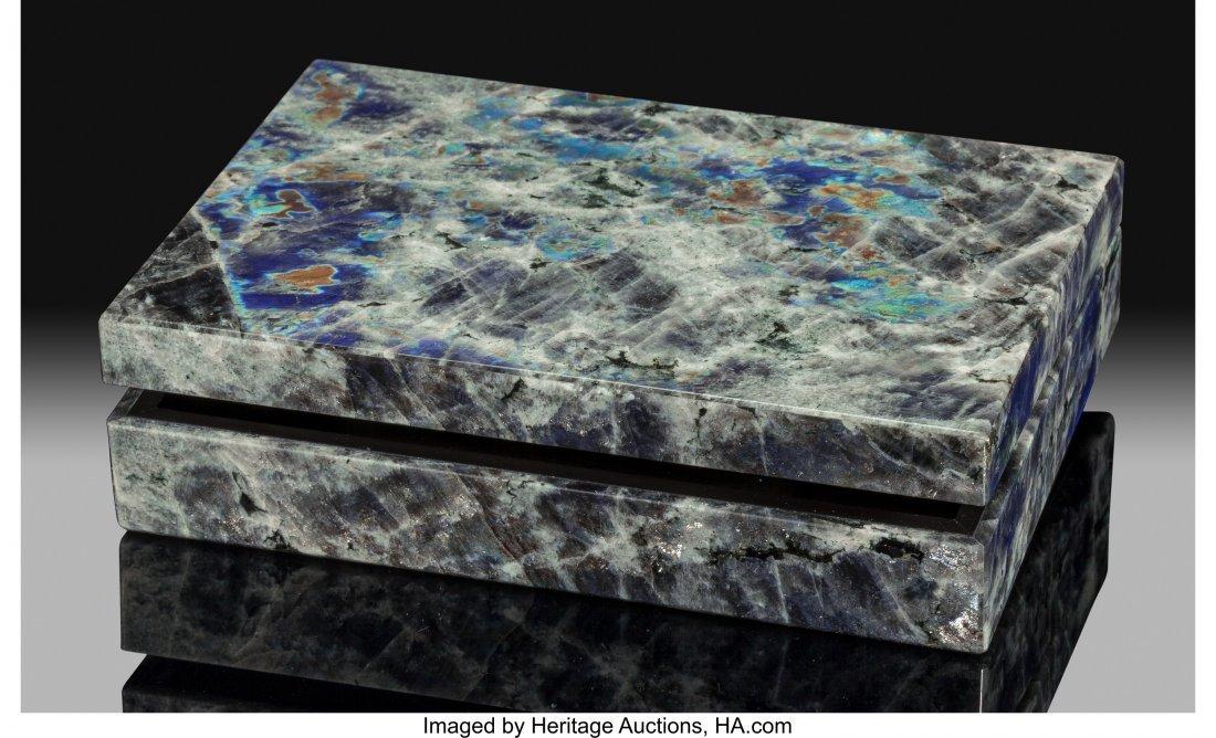 72178: Labradorite Box Stone Source: Madagascar   This