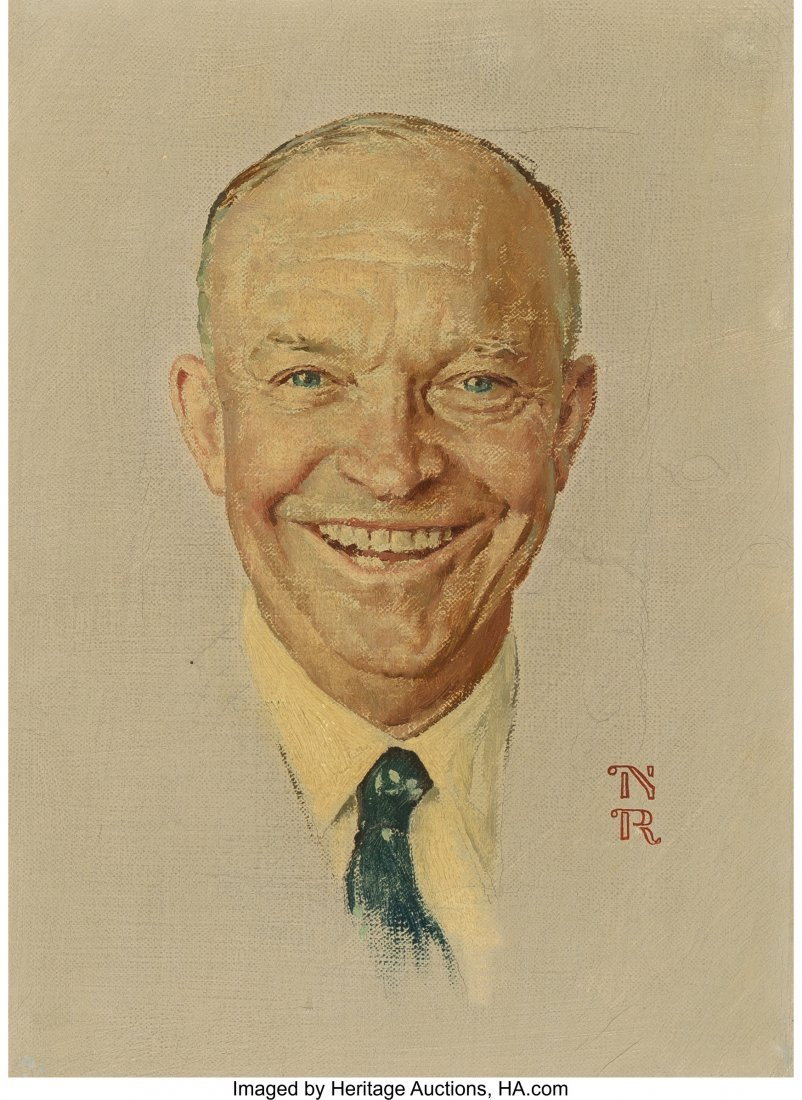 68003: Norman Rockwell (American, 1894-1978) The Day I