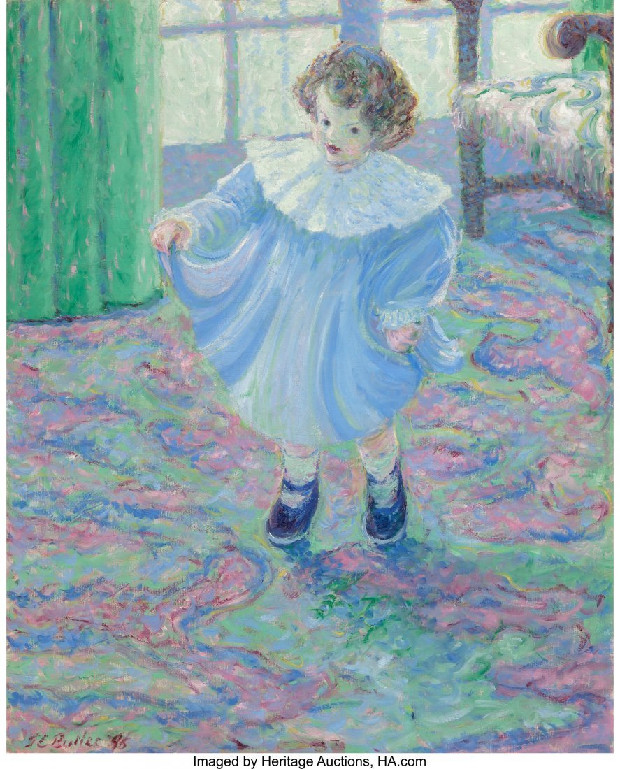68101: Theodore Earl Butler (American, 1861-1936) Lilly