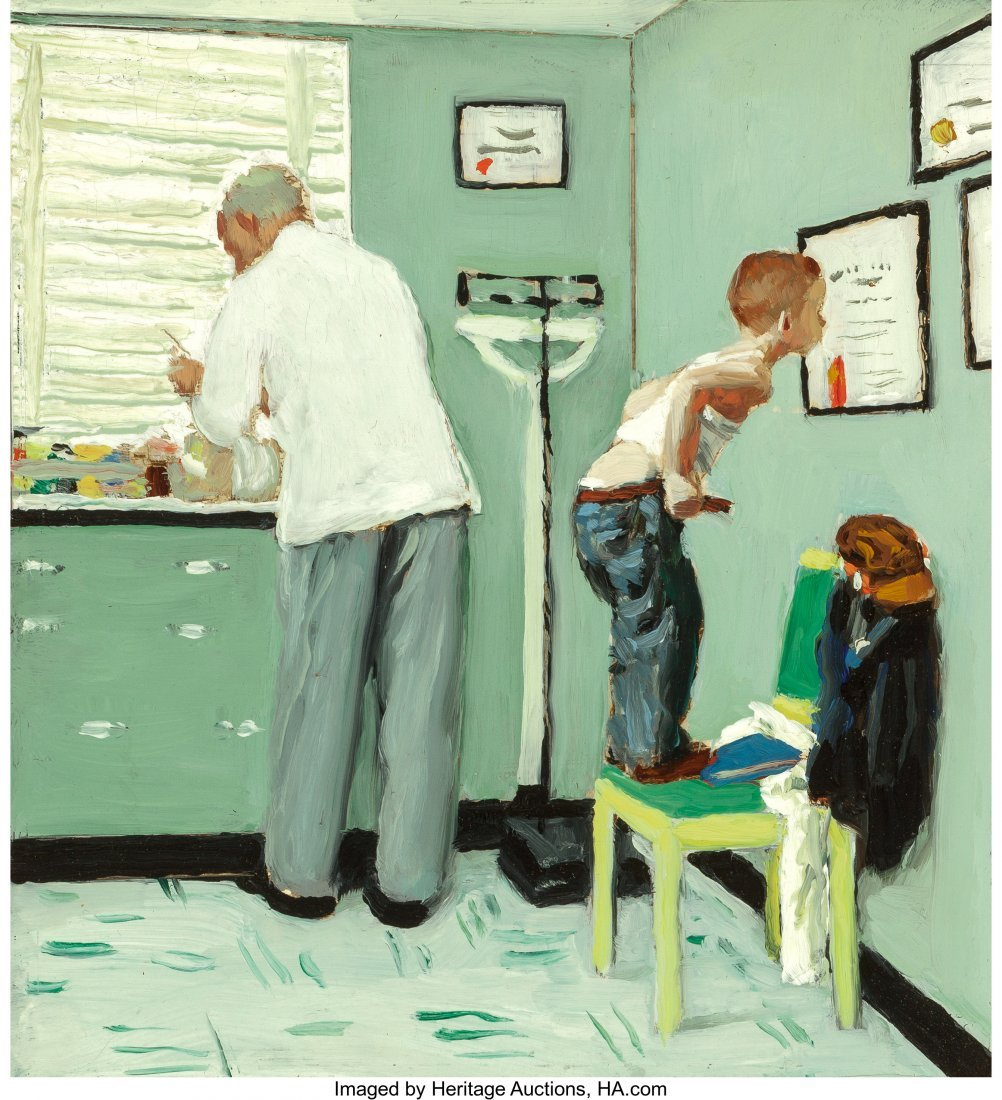 68004: Norman Rockwell (American, 1894-1978) Before the