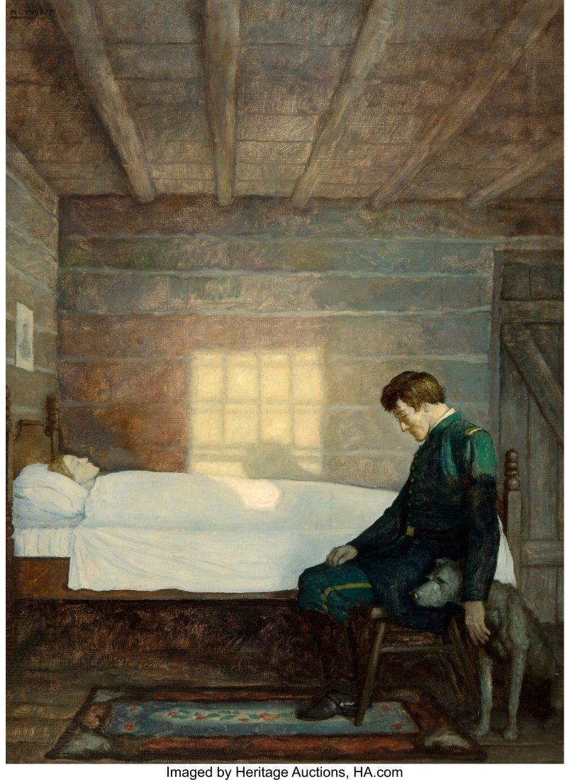 68021: Newell Convers Wyeth (American, 1882-1945) He Sa
