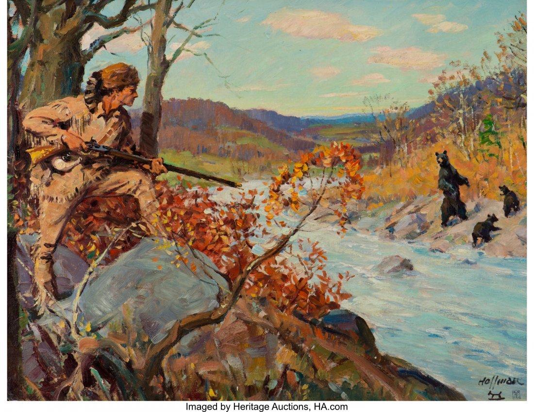 68033: Frank B. Hoffman (American, 1888-1958) Daniel Bo