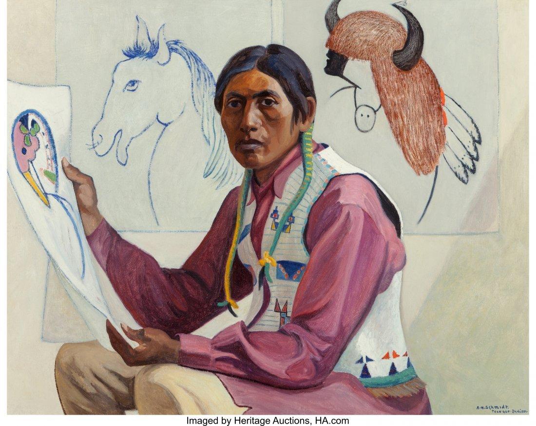 68043: Albert Herman Schmidt (American, 1883-1957) Tesu