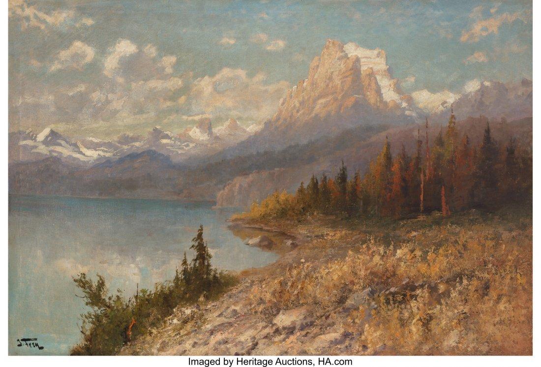 68047: John Fery (American, 1859-1934) Lake St. Mary, G