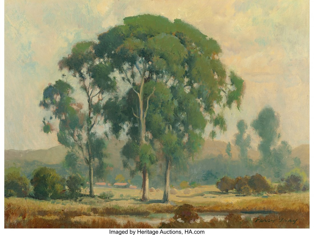 68061: Percy Gray (American, 1869-1952) Eucalyptus in t