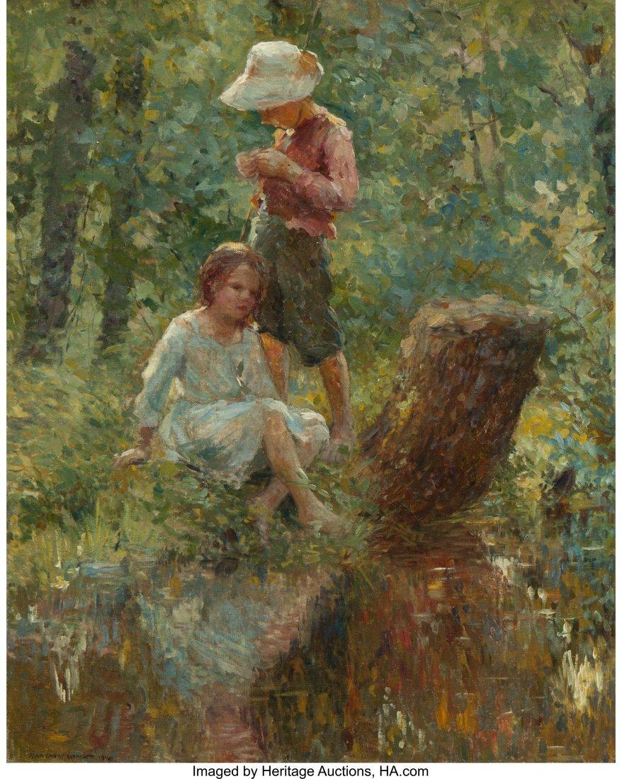 68066: Adam Emory Albright (American, 1862-1957) In the