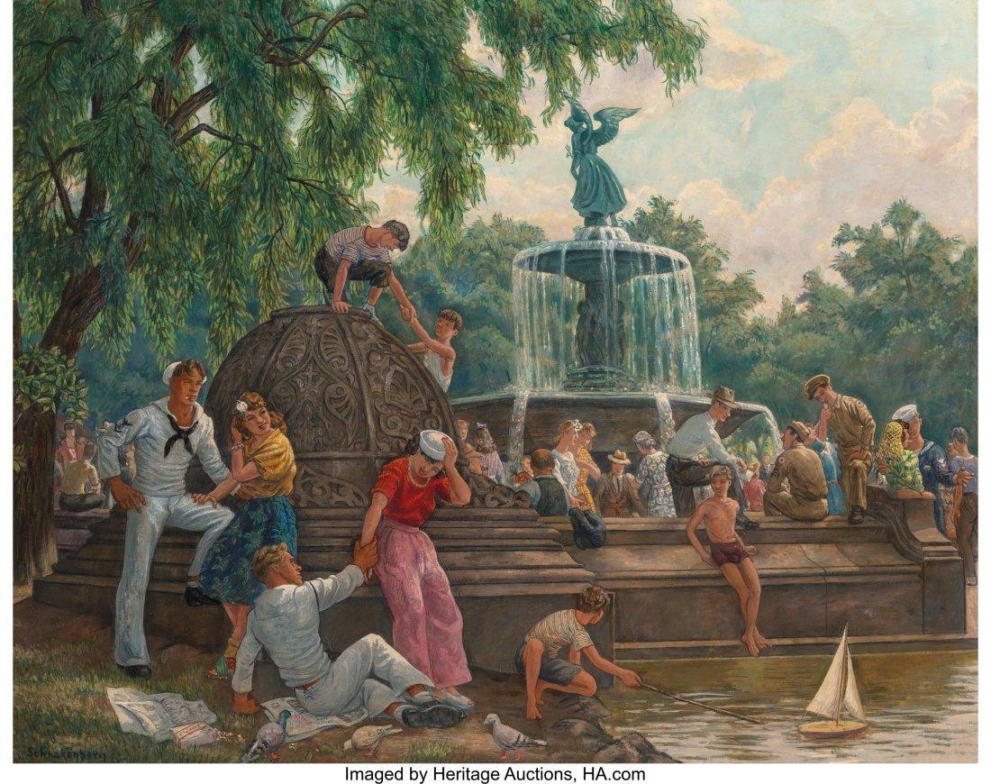 68169: Henry Schnakenberg (American, 1892-1970) Summer