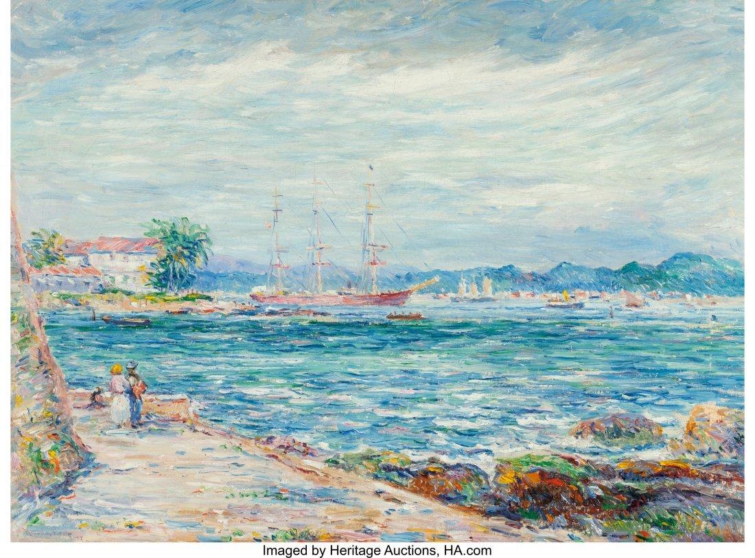 68069: Reynolds Beal (American, 1867-1951) San Juan Har