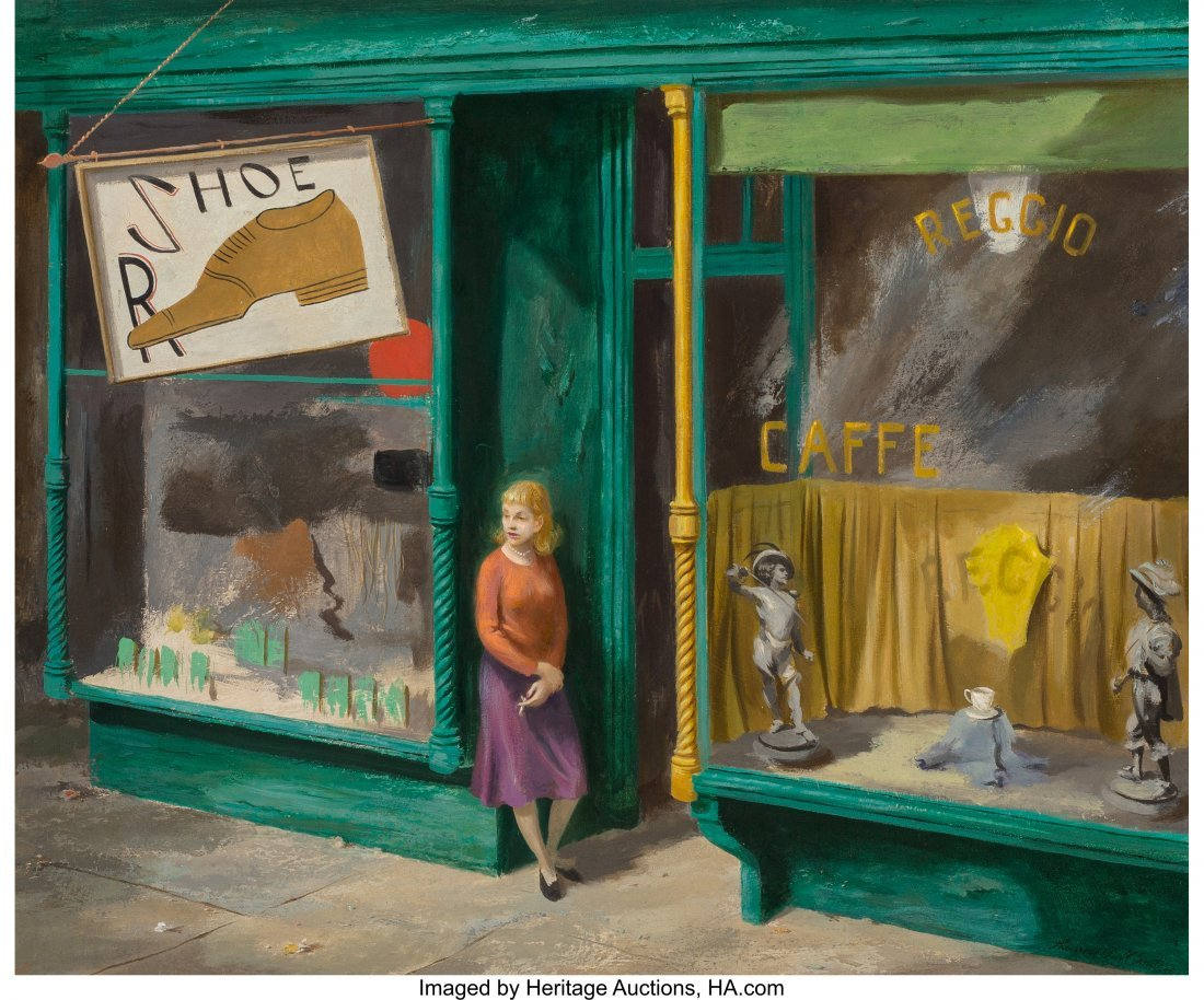 68174: Lawrence Beall Smith (American, 1902-2002) The D
