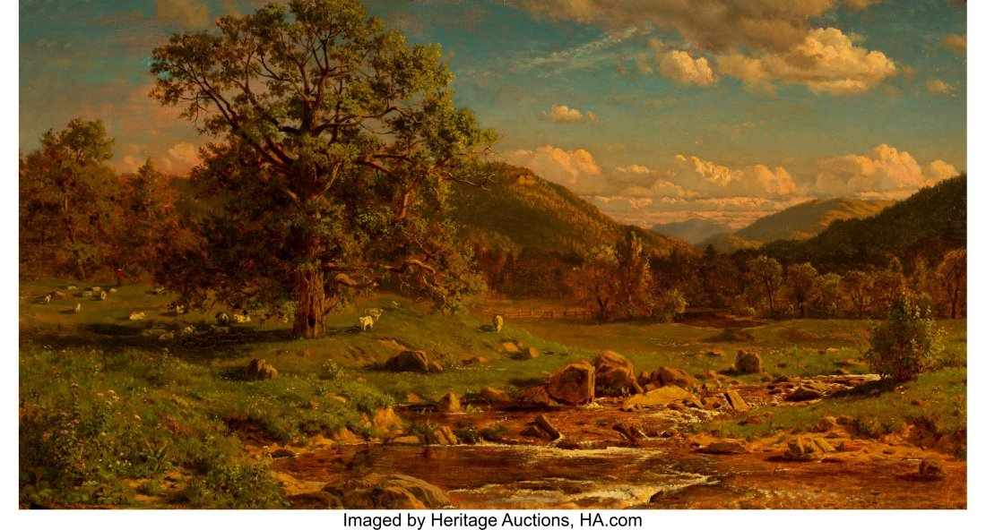 68076: John S. Jameson (American, 1842-1864) Grazing Sh