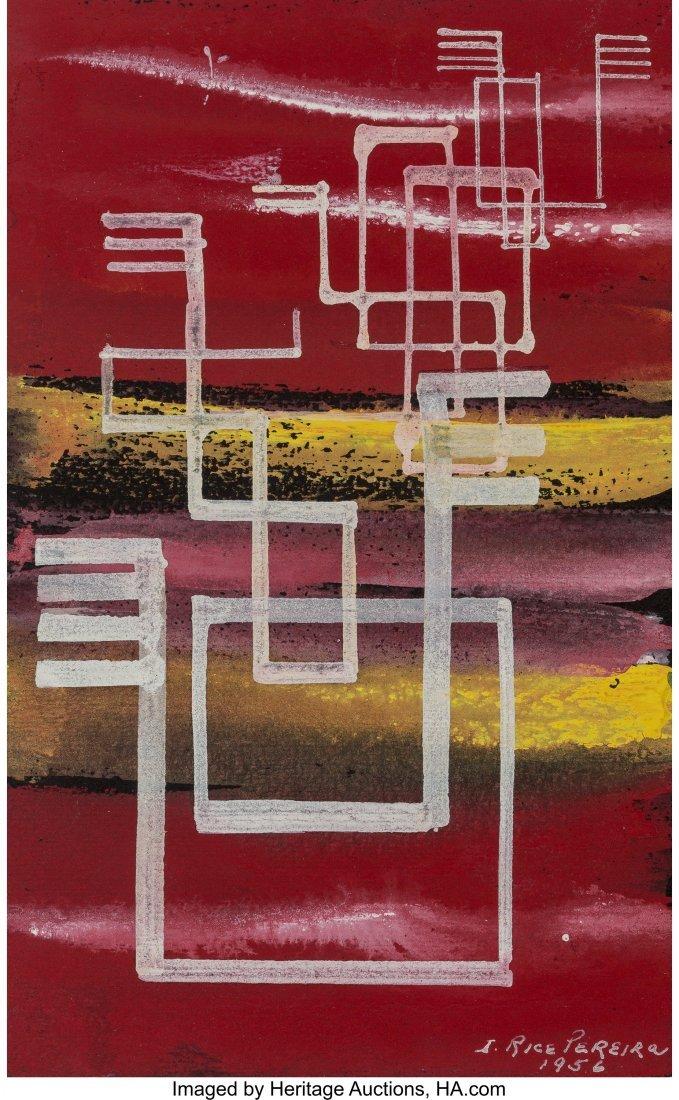 68182: Irene Rice Pereira (American, 1907-1971) Abstrac