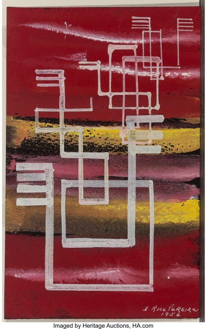 68182: Irene Rice Pereira (American, 1907-1971) Abstrac - 3