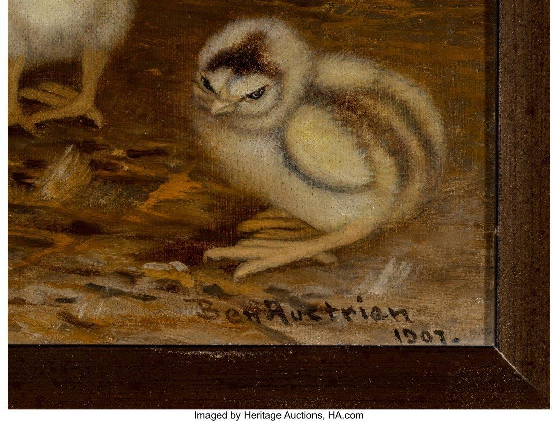 68085: Ben Austrian (American, 1870-1921) Mother Hen an - 3
