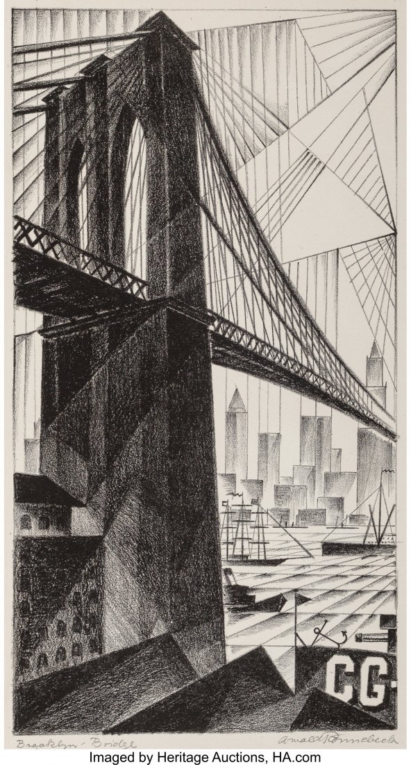 68191: Arnold Ronnebeck (American, 1885-1947) Brooklyn