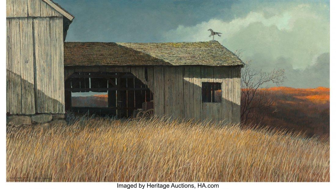 68090: Eric Sloane (American, 1905-1985) November Wind