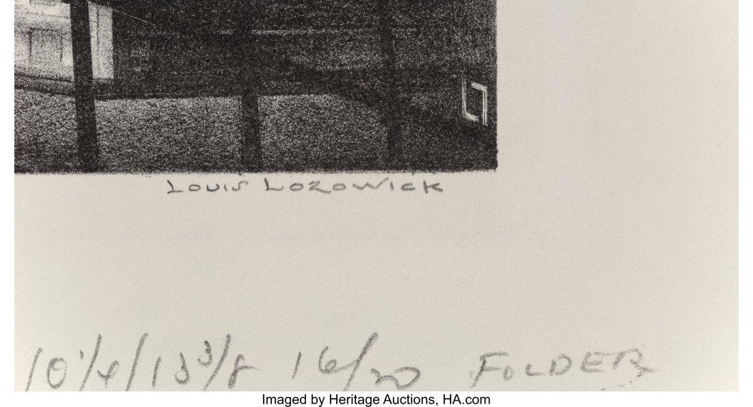 68193: Louis Lozowick (American/Russian, 1892-1973) Thr - 2