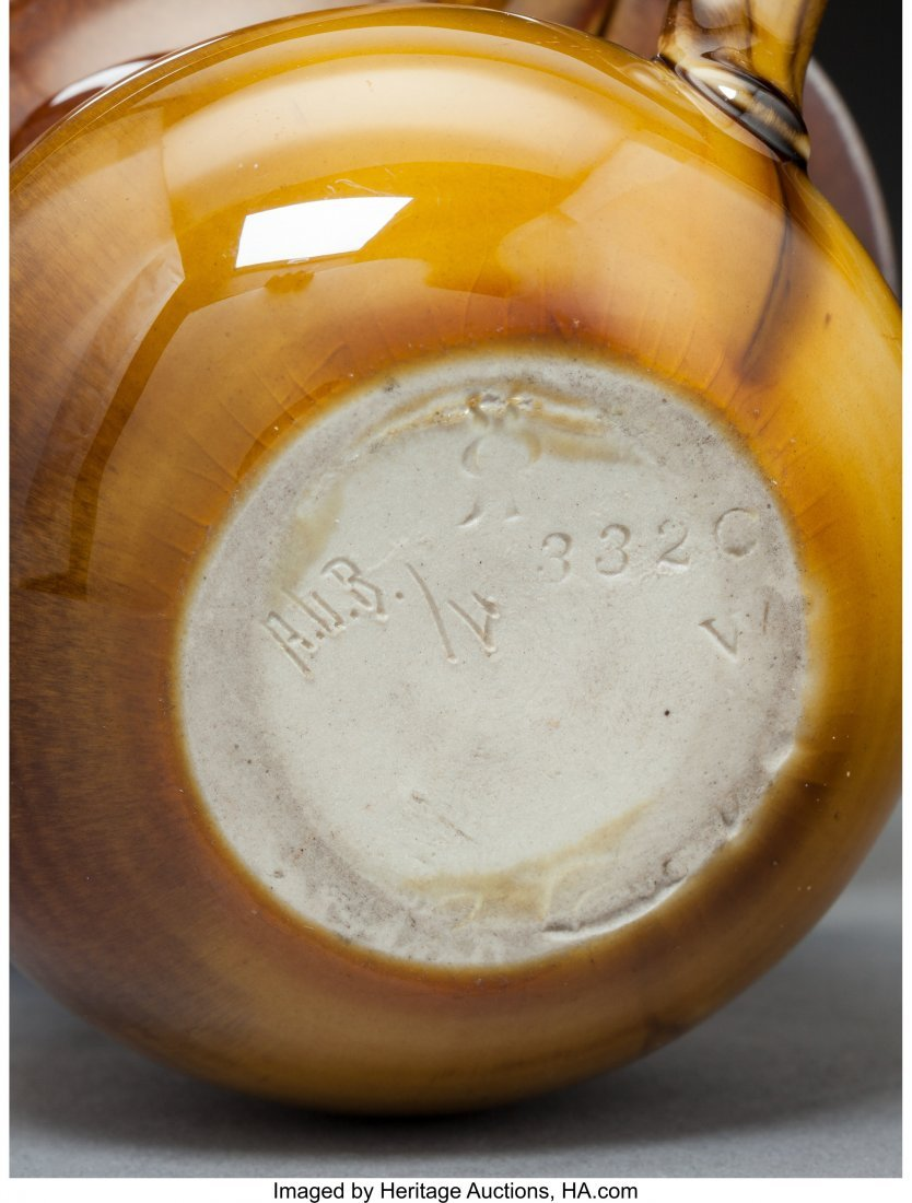 79299: Four Rookwood Pottery Standard and Vellum Glaze  - 3