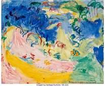 Hans Hofmann (1880-1966) Landscape No. 130, 1934