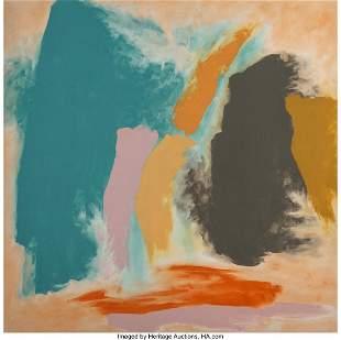 77017: Friedel Dzubas (1915-1994) Desert Heart, 1976 Ac
