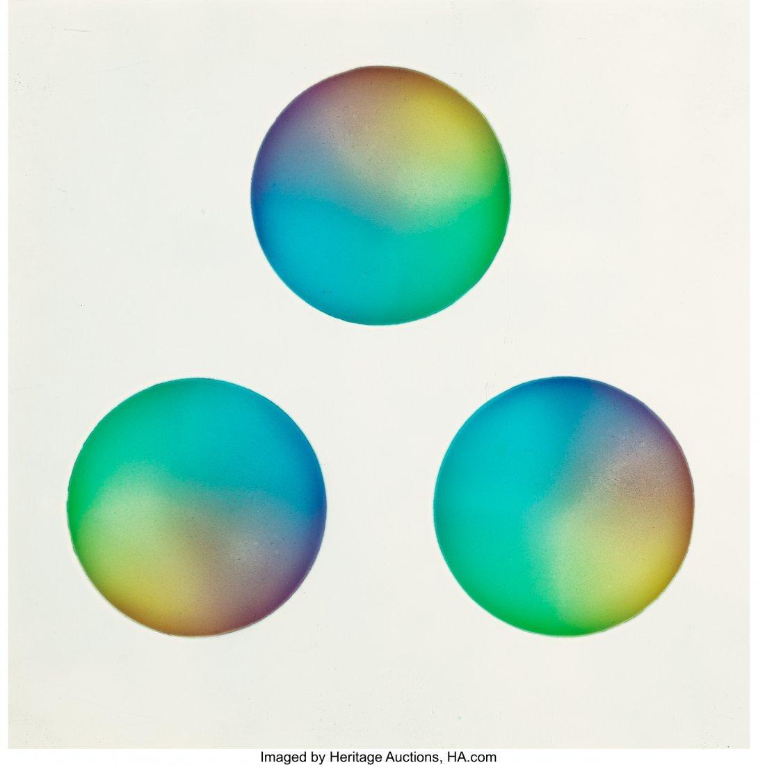 77040: Judy Chicago (b. 1939) Untitled (Three circles)