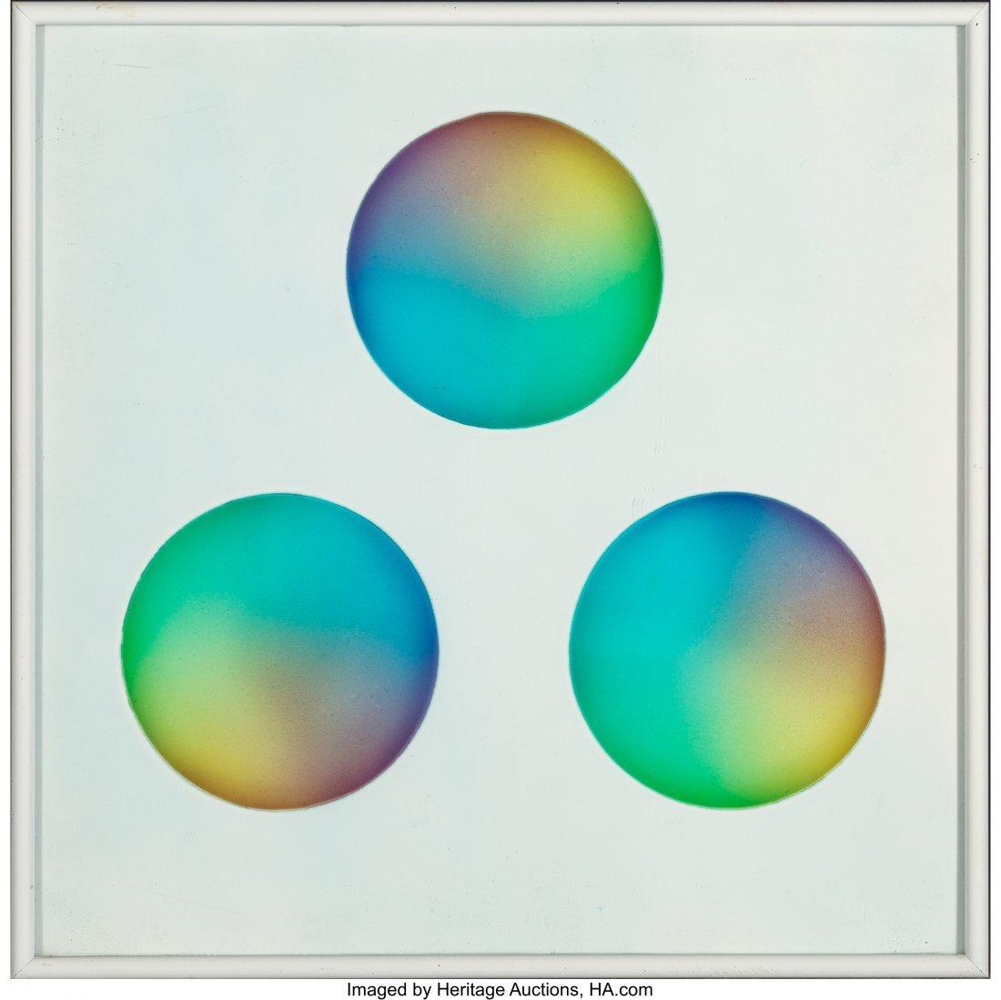 77040: Judy Chicago (b. 1939) Untitled (Three circles)  - 2