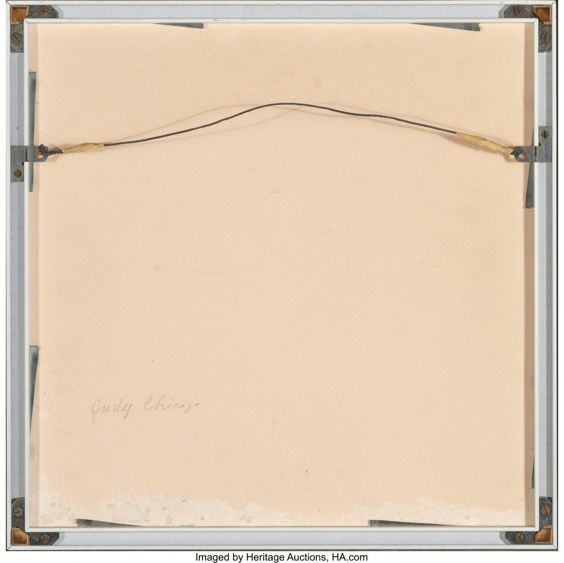 77040: Judy Chicago (b. 1939) Untitled (Three circles)  - 4