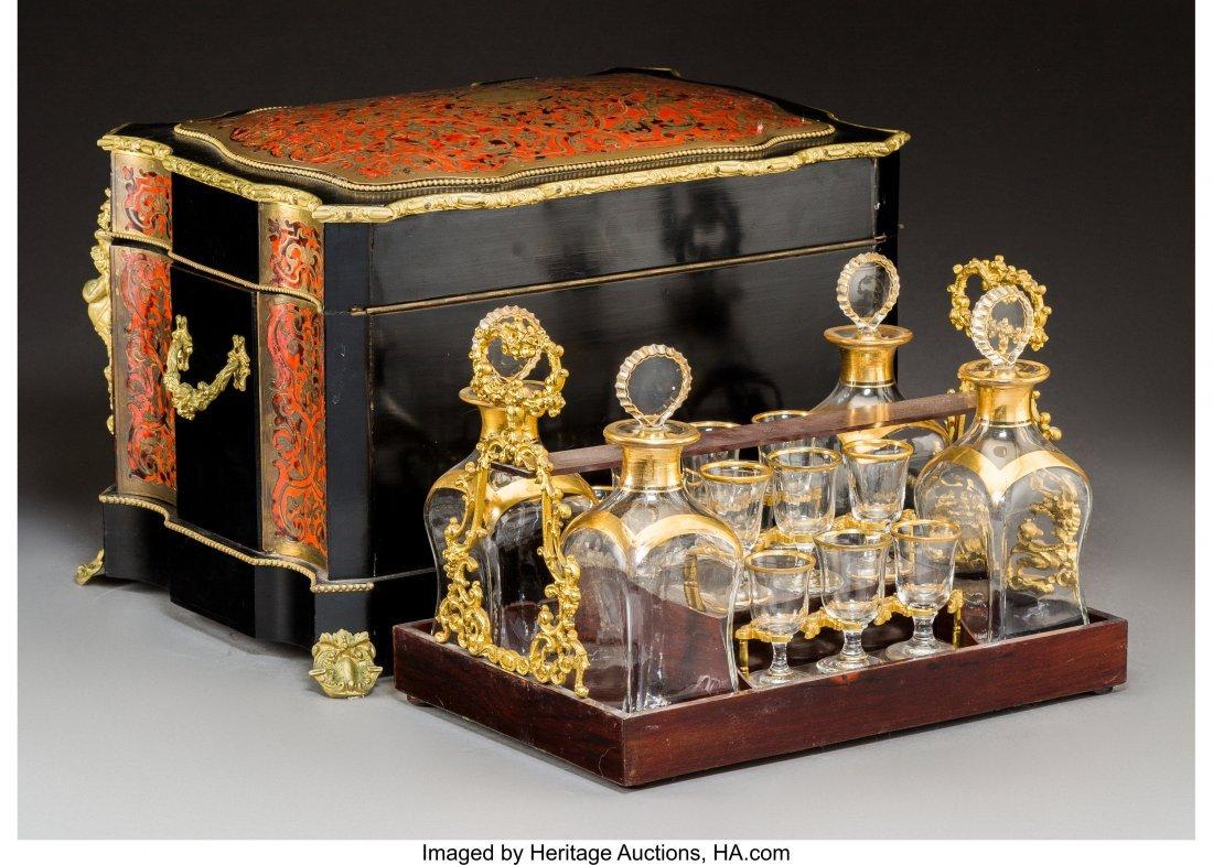 61003: A Napoleon III Boulle, Ebonized Wood, and Gilt G - 4