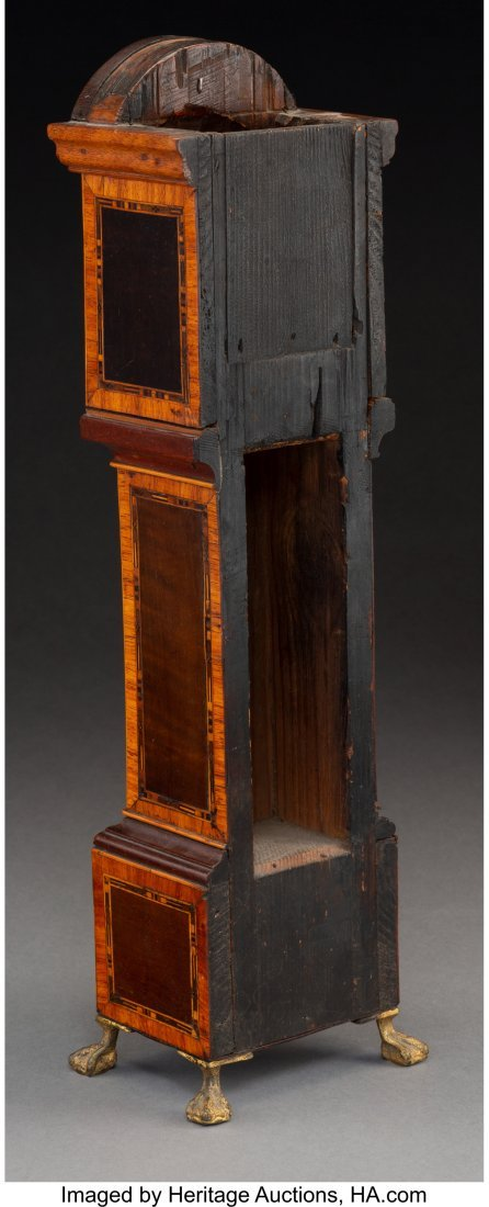 61138: A Miniature George III-Style Mahogany and Satinw - 2