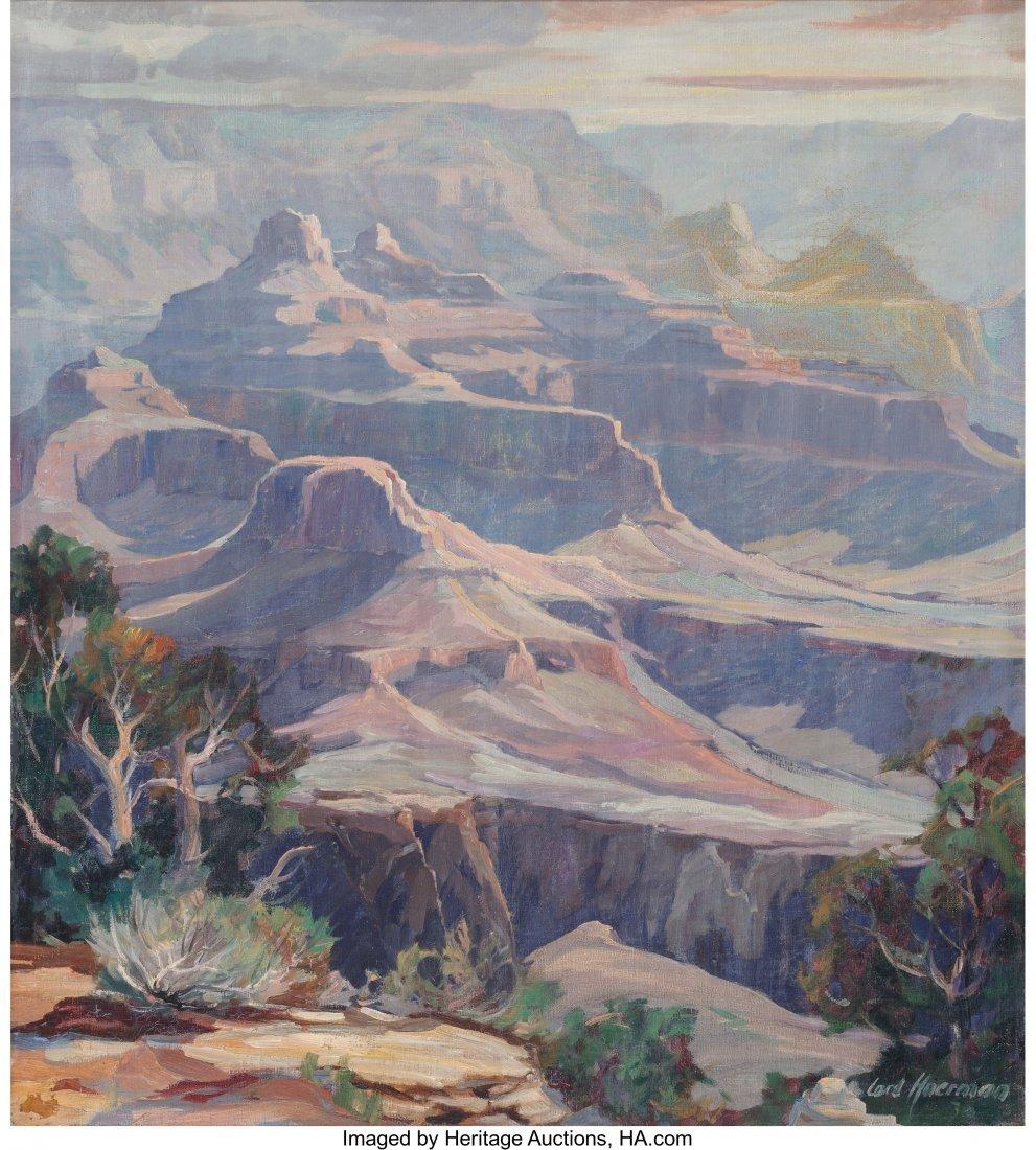61202: Carl Hoerman (American, 1885-1955) The Grand Can