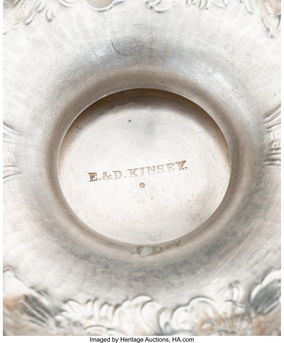 61284: A Five-Piece E & D Kinsey Coin Silver Tea and Co - 3