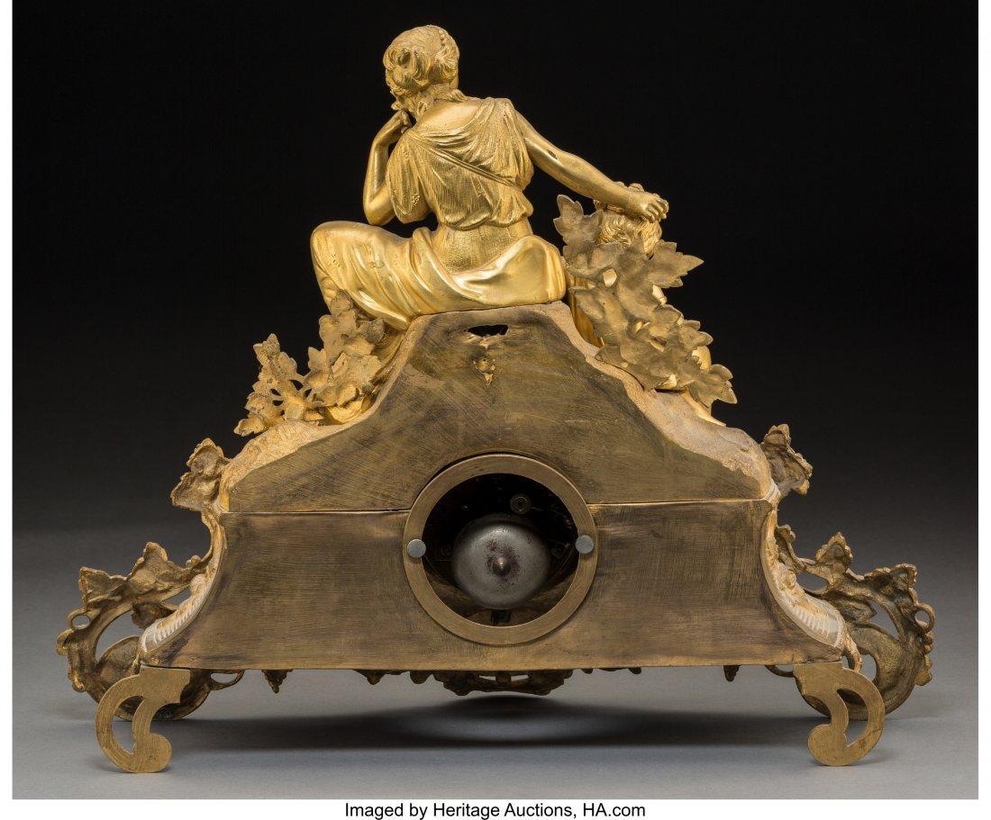 61458: An Alliez & Berguer Louis XVI-Style Gilt Bronze  - 2