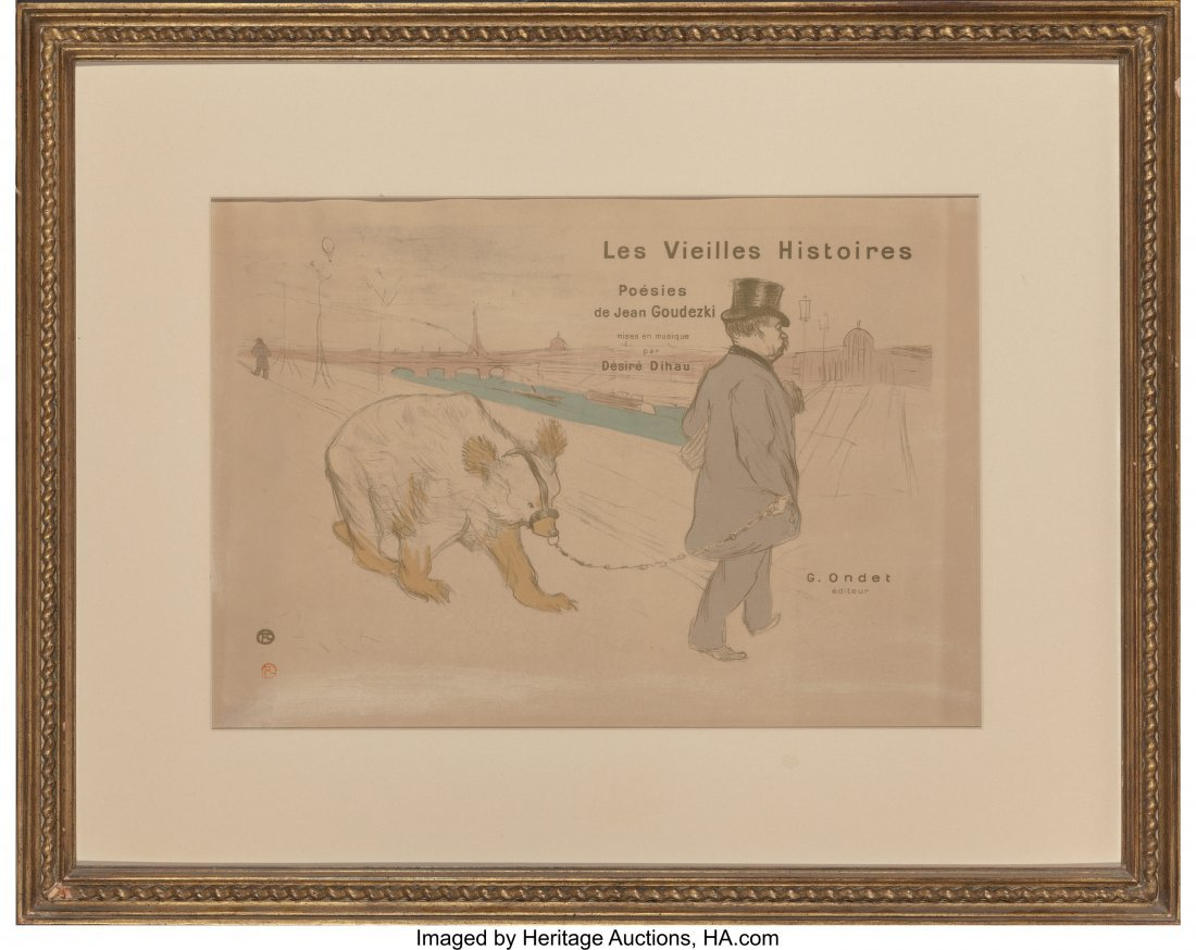 61393: Henri de Toulouse-Lautrec (French, 1864-1901) Le - 2