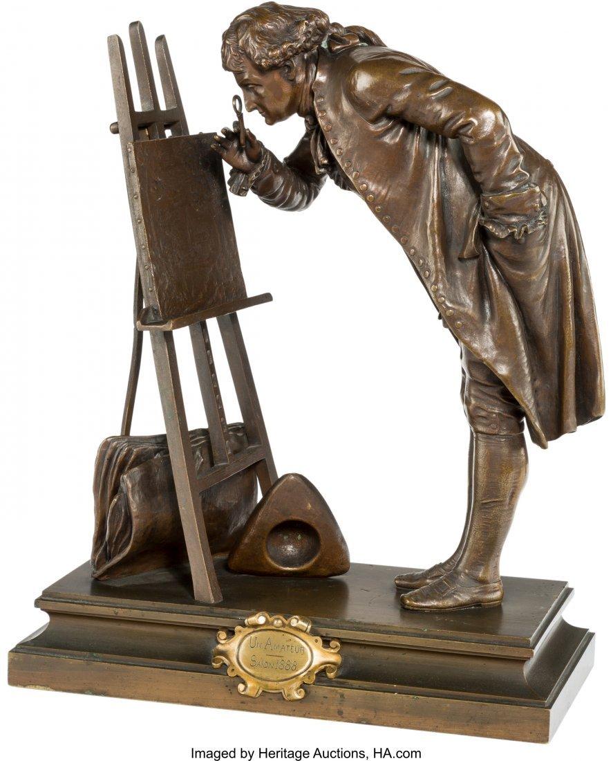 61398: Pierre-Louis Detrier (French, 1822-1897) Un Amet