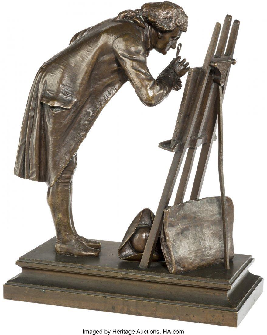 61398: Pierre-Louis Detrier (French, 1822-1897) Un Amet - 2