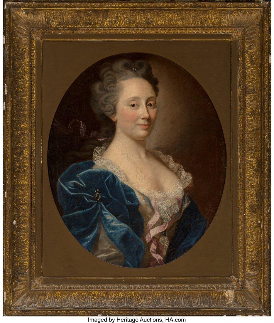 61363: French School (19th Century) Portrait of Lady, B - 2