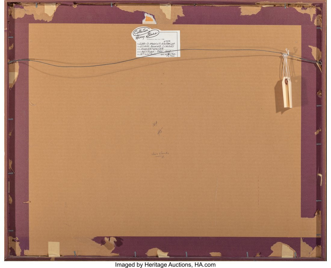 61704: Friedensreich Hundertwasser (1928-2000) Two Clou - 4