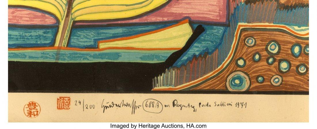 61705: Friedensreich Hundertwasser (Austrian, 1928-2000 - 3