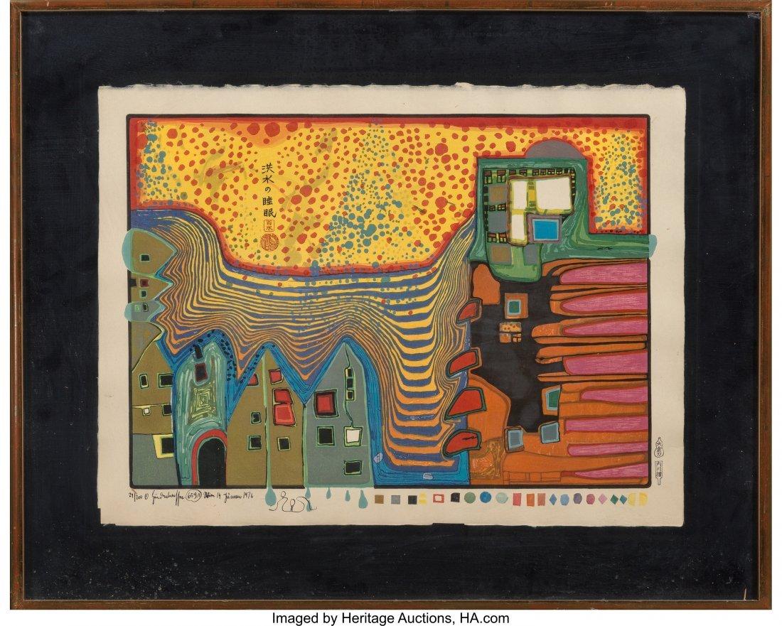 61706: Friedensreich Hundertwasser (Austrian, 1928-2000 - 2