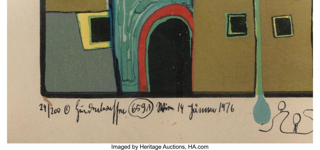 61706: Friedensreich Hundertwasser (Austrian, 1928-2000 - 3