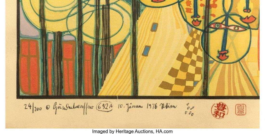 61708: Friedensreich Hundertwasser (Austrian, 1928-2000 - 3