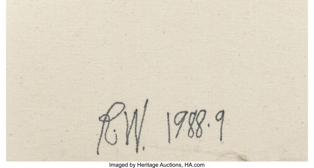 61688: Rob Wynne (b. 1950) Morning Garden #1-9 (nine wo - 10