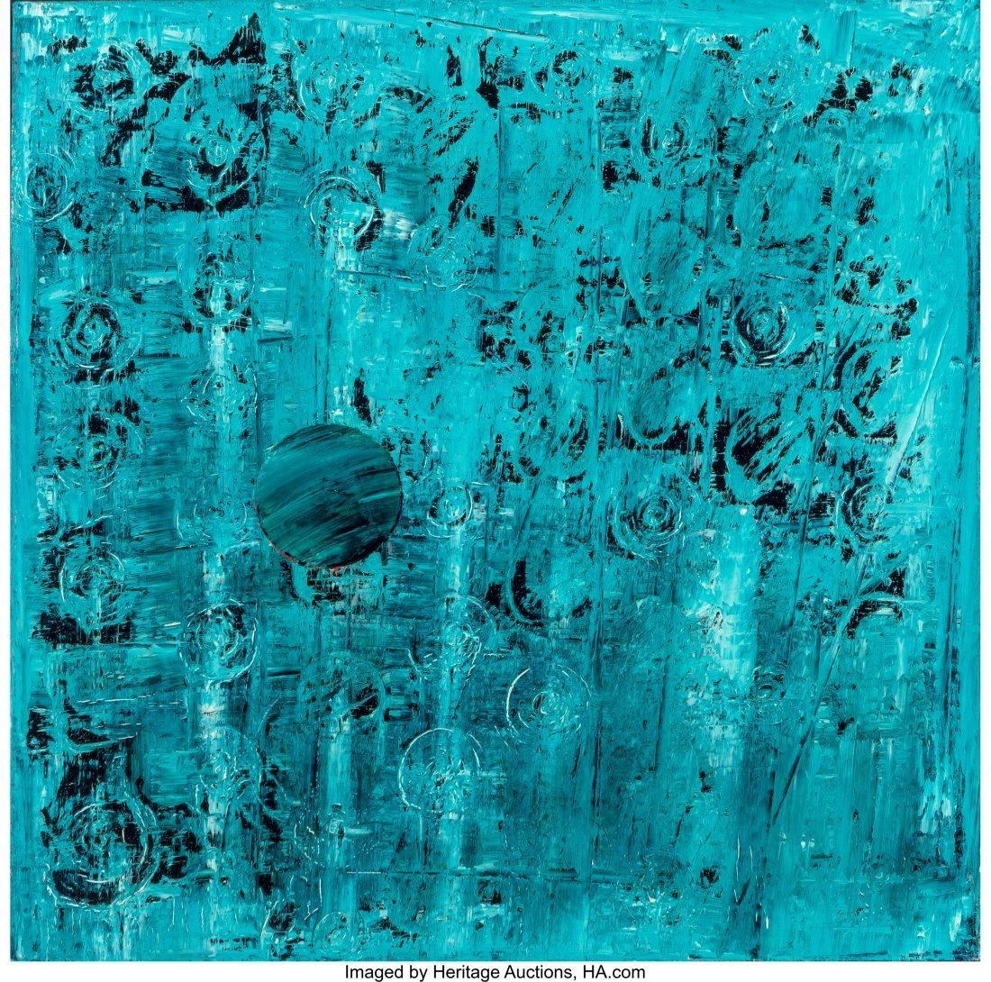 61688: Rob Wynne (b. 1950) Morning Garden #1-9 (nine wo