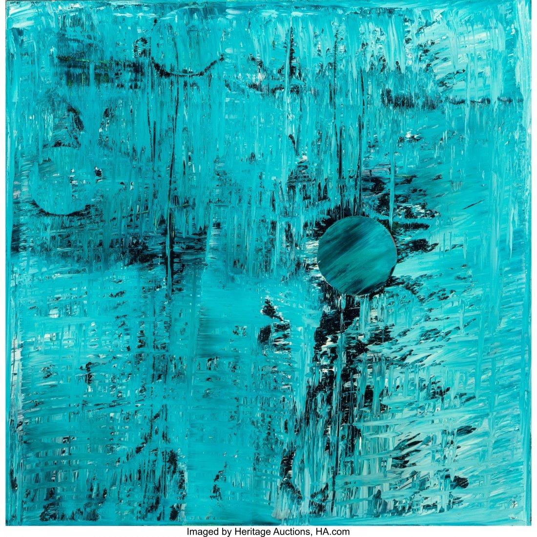 61688: Rob Wynne (b. 1950) Morning Garden #1-9 (nine wo - 9