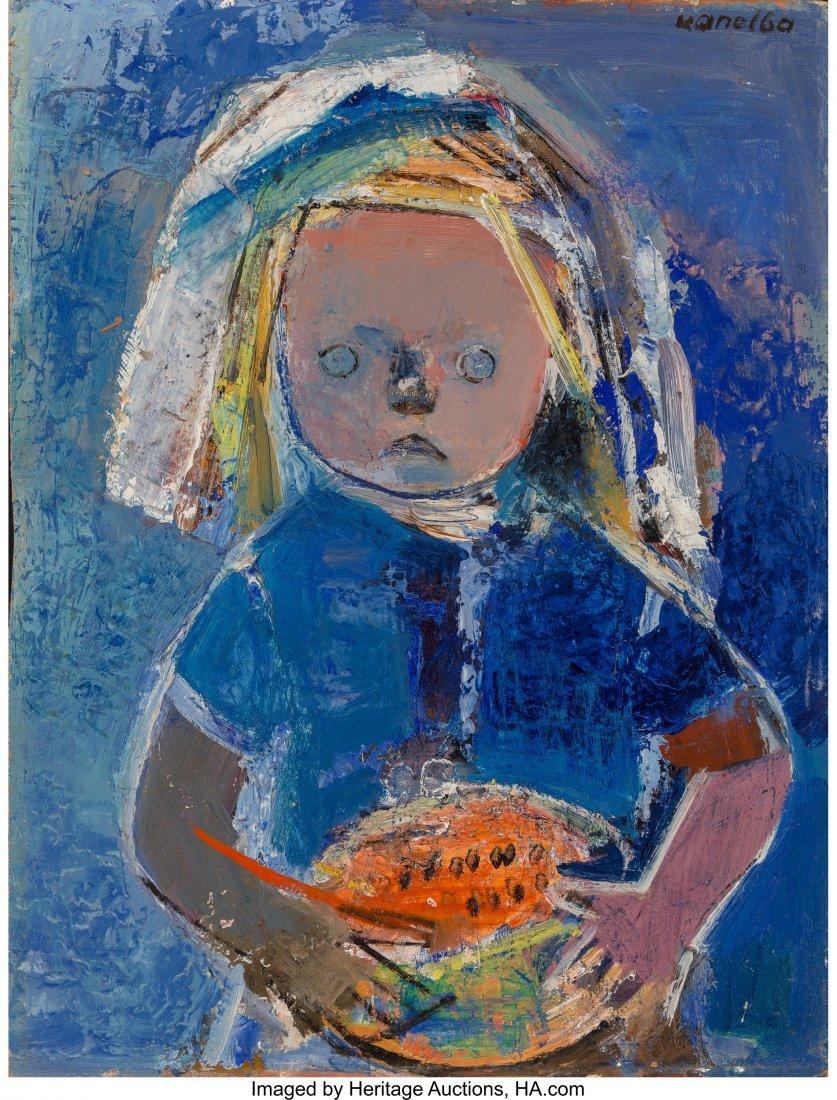 61692: Raymond Kanelba (Polish, 1897-1997) Girl with Me